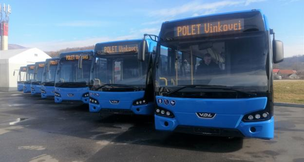 First order for new buses in Croatia: 7 VDL Citeas LLE-120 delivered to Polet d.o.o.