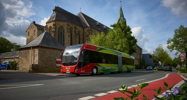 49 Citeas SLFA-181 for pioneer Osnabrück: largest fleet of electric articulated buses in Germany