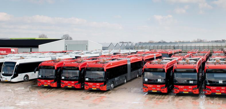 VDL Bus & Coach celebrates milestone of 50 million electric kilometres and introduces new battery pack