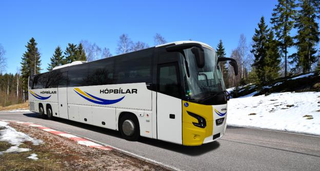 VDL Bus & Coach makes its debut in Icelandic intercity transport: 5 Futuras for Hópbílar