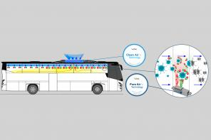 VDL Bus & Coach introduceert VDL Pure/Clean Air Technology: innovatie in COVID-19-tijdperk